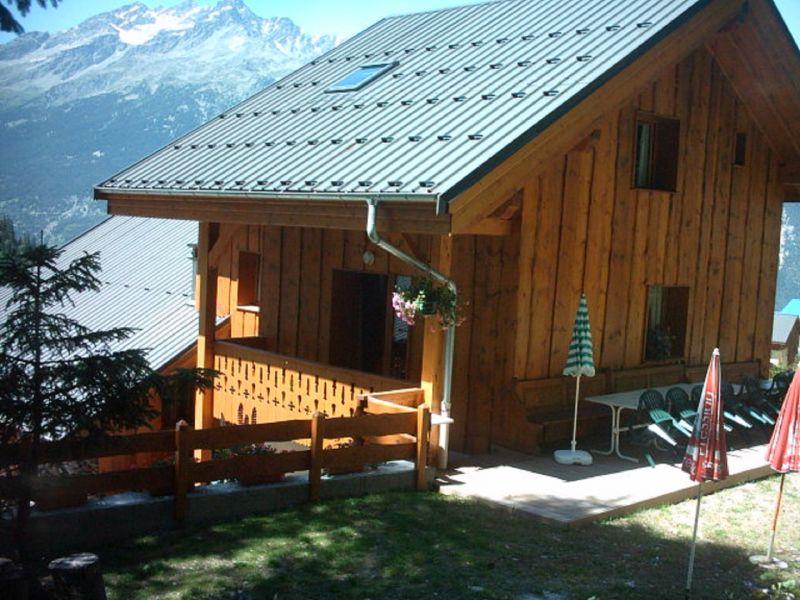 Jardin Location Chalet 3290 Valfréjus