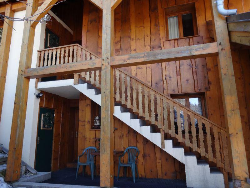 Entrée Location Chalet 3291 Valfréjus