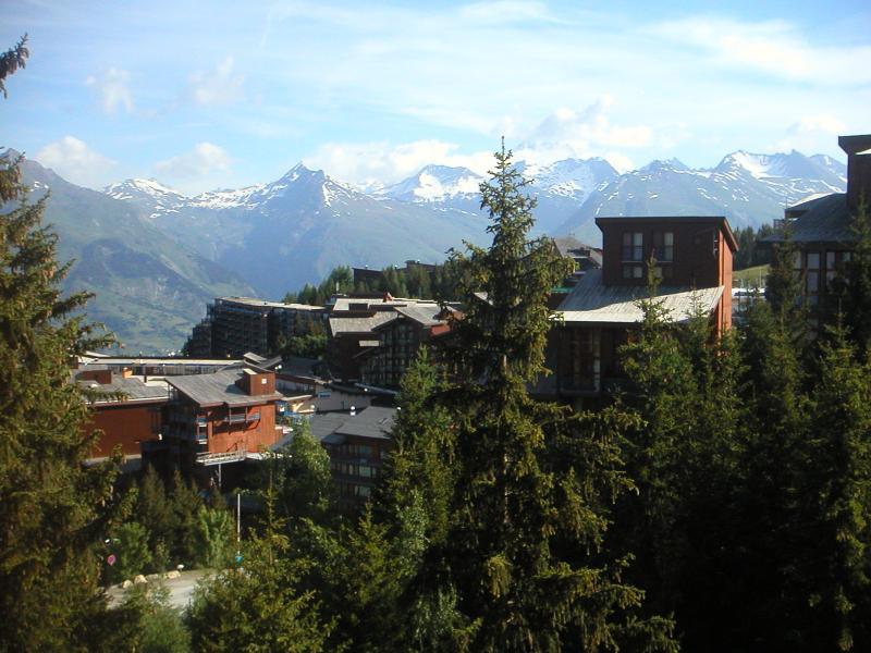 Vue du balcon Location Appartement 330 Les Arcs