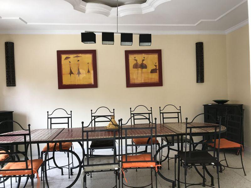 Salle à manger Location Villa 33283 Casablanca