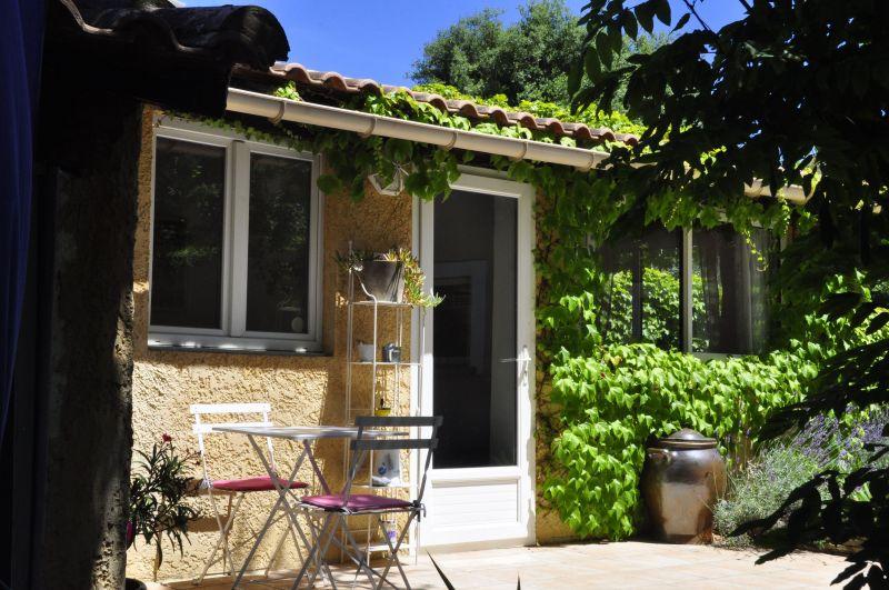 Vue de la terrasse Location Gite 33456 Avignon
