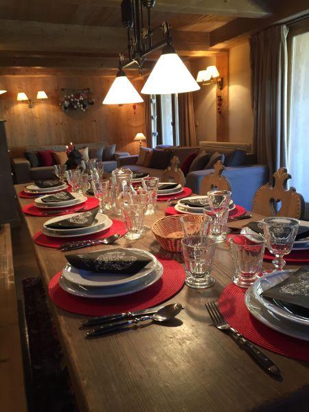 Salle à manger Location Appartement 3347 Val d'Isère