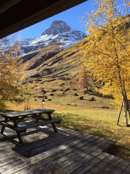 Vue de la terrasse Location Appartement 3347 Val d'Isère