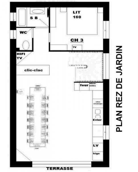 Plan de la location Location Chalet 3373 Valloire
