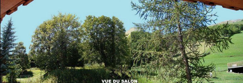 Vue de la terrasse Location Chalet 3373 Valloire