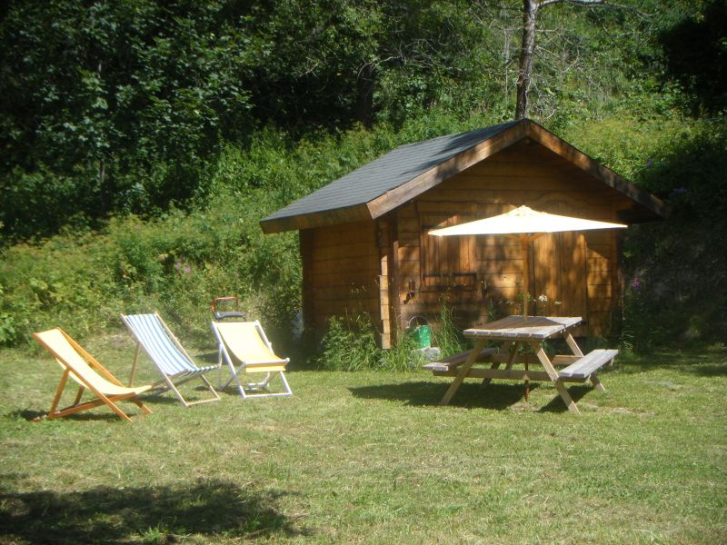 Jardin Location Appartement 3383 Valloire