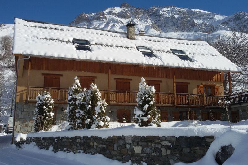 Vue extérieure de la location Location Appartement 3383 Valloire