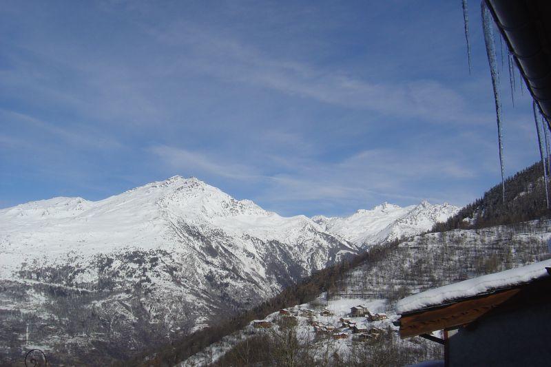 Vue de la terrasse Location Chalet 3455 Valmeinier