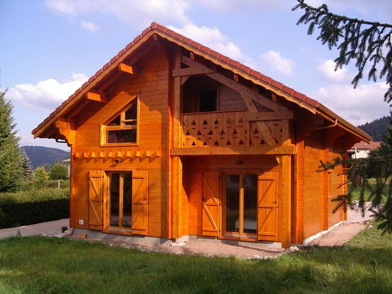 Vue extérieure de la location Location Chalet 35155 Gérardmer