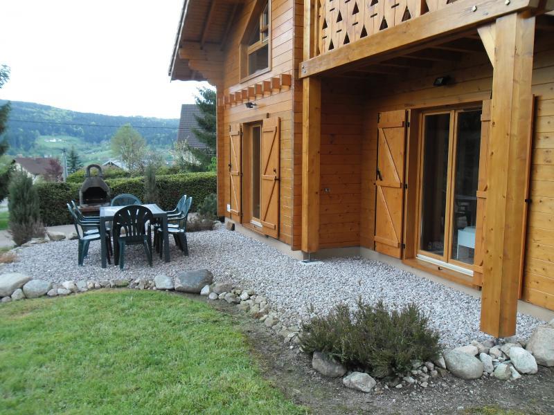 Vue depuis la location Location Chalet 35155 Gérardmer