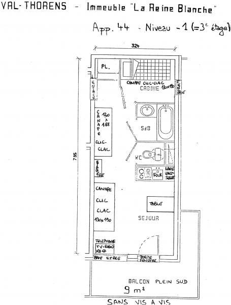 Location Studio 3517 Val Thorens
