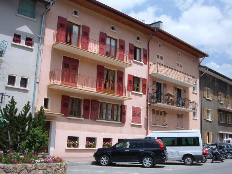 Vue extérieure de la location Location Appartement 35822 Val Cenis