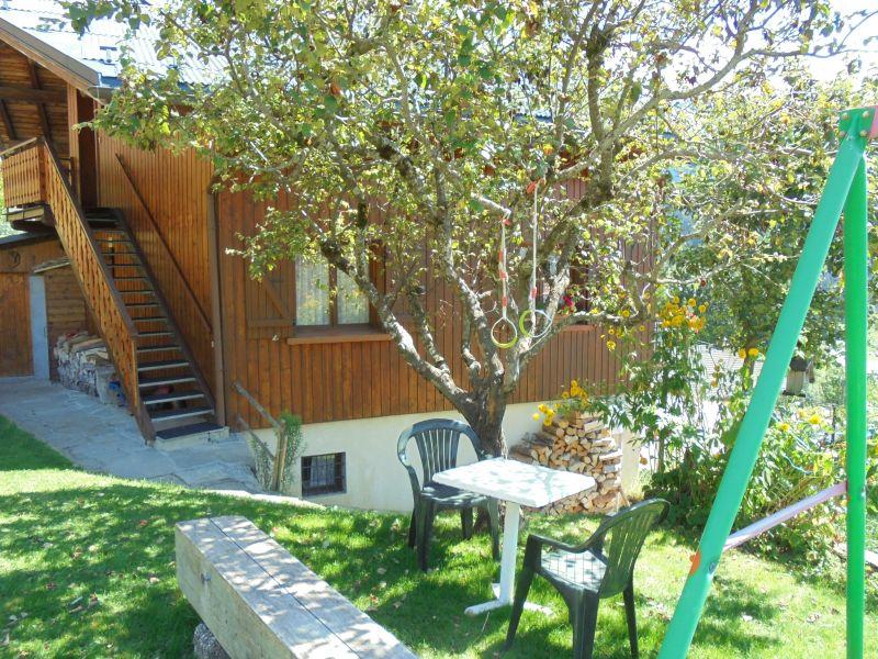 Jardin Location Appartement 360 Areches Beaufort