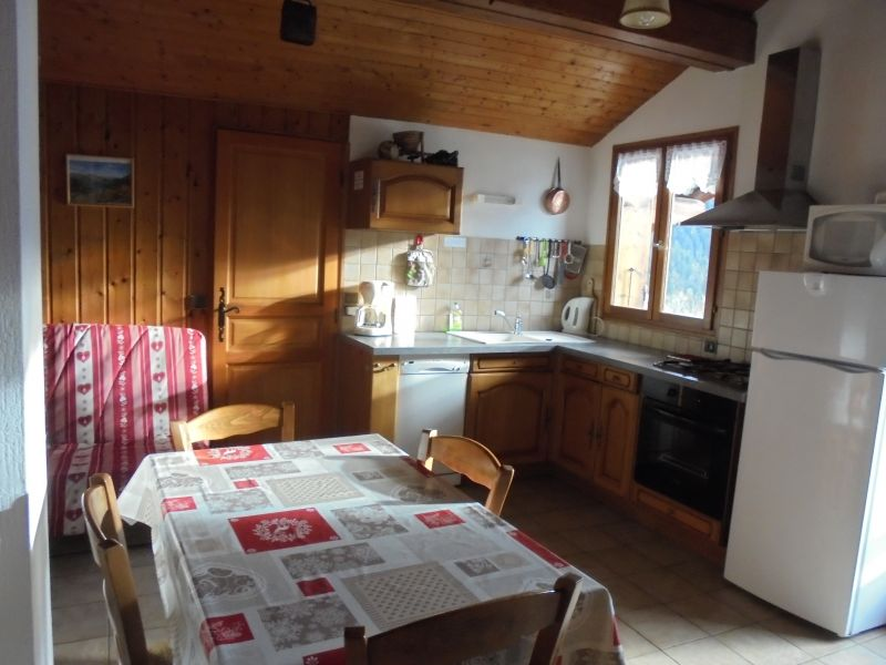 Coin cuisine Location Appartement 360 Areches Beaufort
