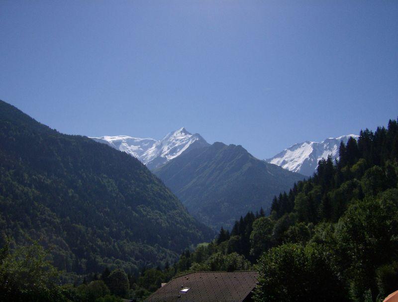 Vue depuis la location Location Chalet 36087 Saint Gervais Mont-Blanc