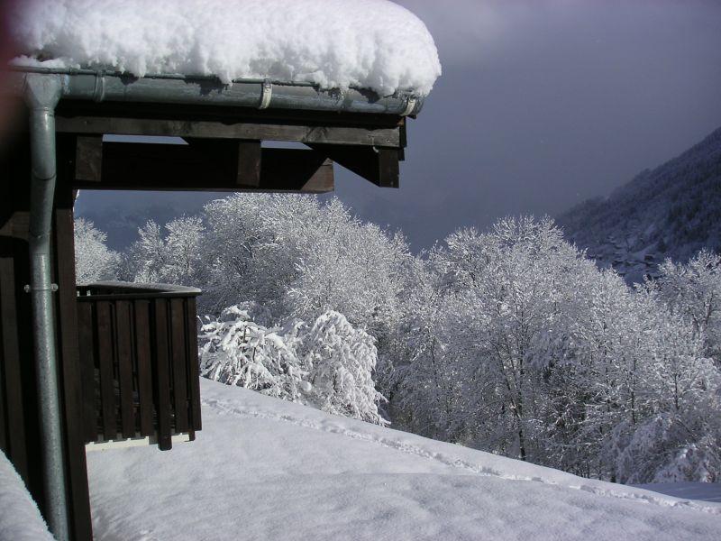 Vue extérieure de la location Location Chalet 36087 Saint Gervais Mont-Blanc