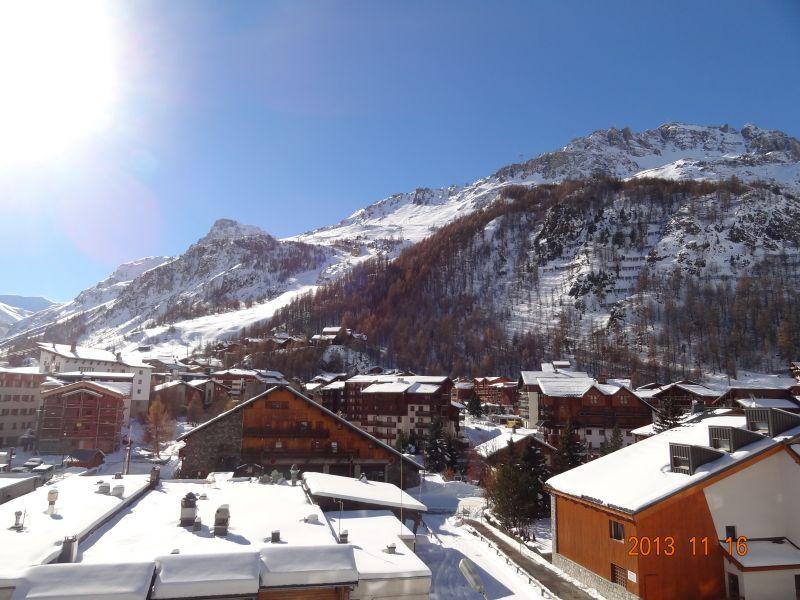 Vue depuis la location Location Appartement 36468 Val d'Isère