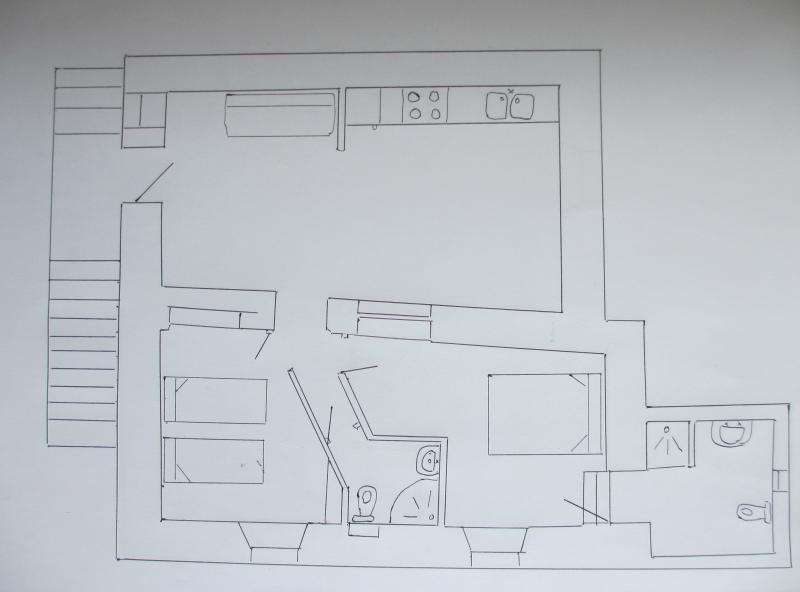 Plan de la location Location Gite 367 Areches Beaufort