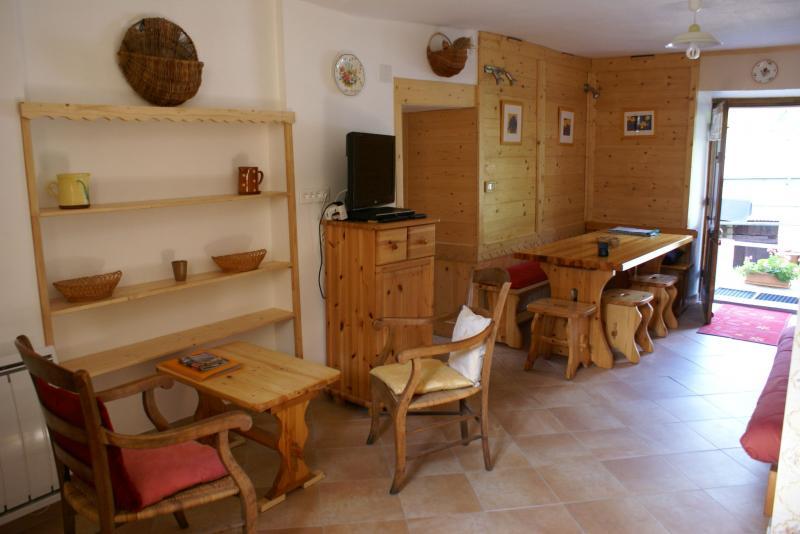 Salle à manger Location Gite 367 Areches Beaufort