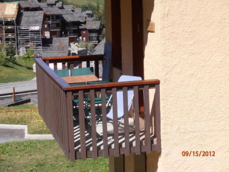 Vue extérieure de la location Location Appartement 37079 Valmorel