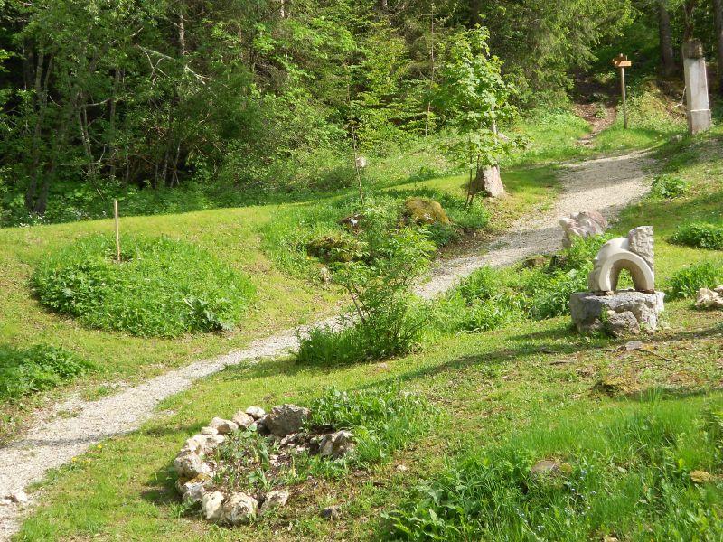 Vue de la terrasse Location Appartement 3737 Mijoux