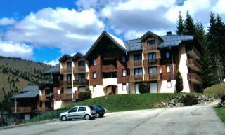 Vue ext�rieure de la location Location Appartement 3737 Mijoux