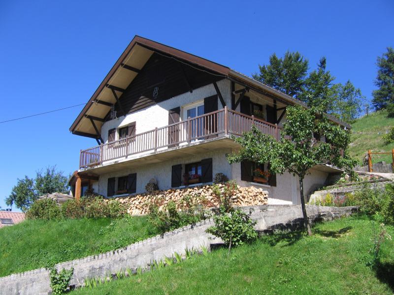 Vue extérieure de la location Location Appartement 3772 Les Rousses