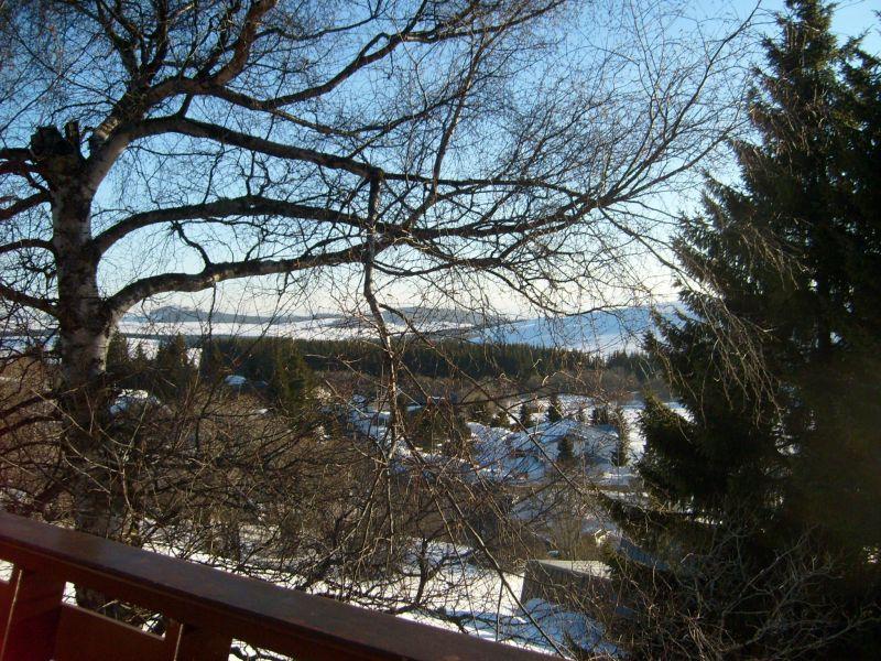 Vue du balcon Location Chalet 3792 Besse - Super Besse
