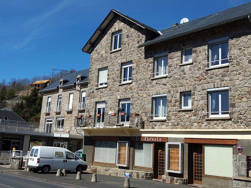 Vue extérieure de la location Location Appartement 3793 Besse - Super Besse
