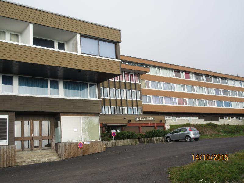 Vue extérieure de la location Location Appartement 3795 Besse - Super Besse