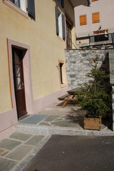 Terrasse Location Appartement 38237 Valloire