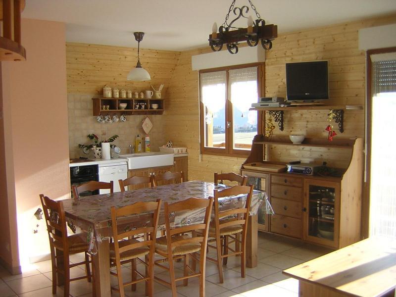Coin cuisine Location Chalet 3837 Besse et Saint Anastaise
