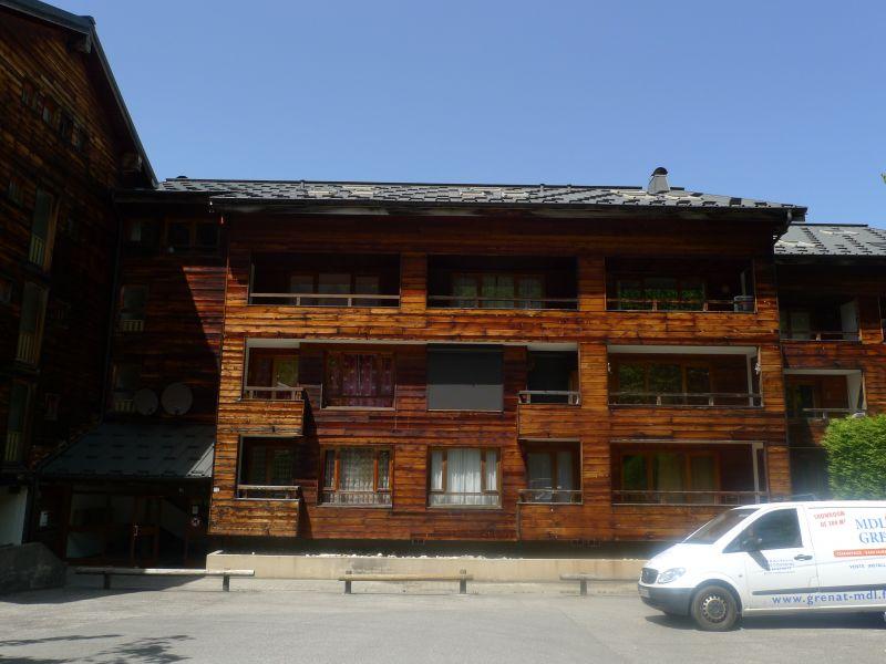 Vue extérieure de la location Location Appartement 38397 Saint Jean d'Aulps- La Grande Terche