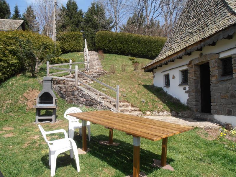 Jardin Location Gite 38545 Le Lioran