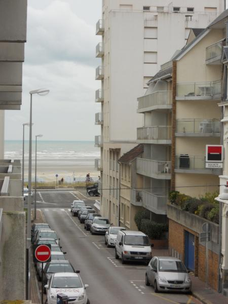 Vue du balcon Location Studio 38630 Le Touquet