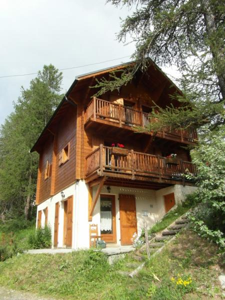 Vue extérieure de la location Location Chalet 38653 Les Orres