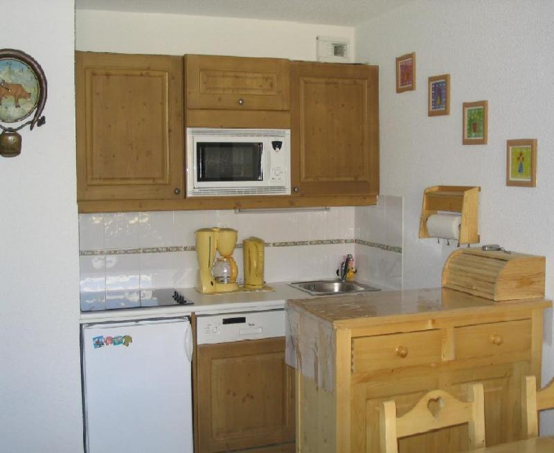 Coin cuisine Location Appartement 38667 Morillon Grand Massif