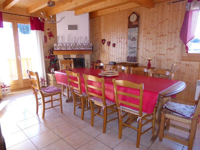 Salle à manger Location Chalet 38701 Morzine