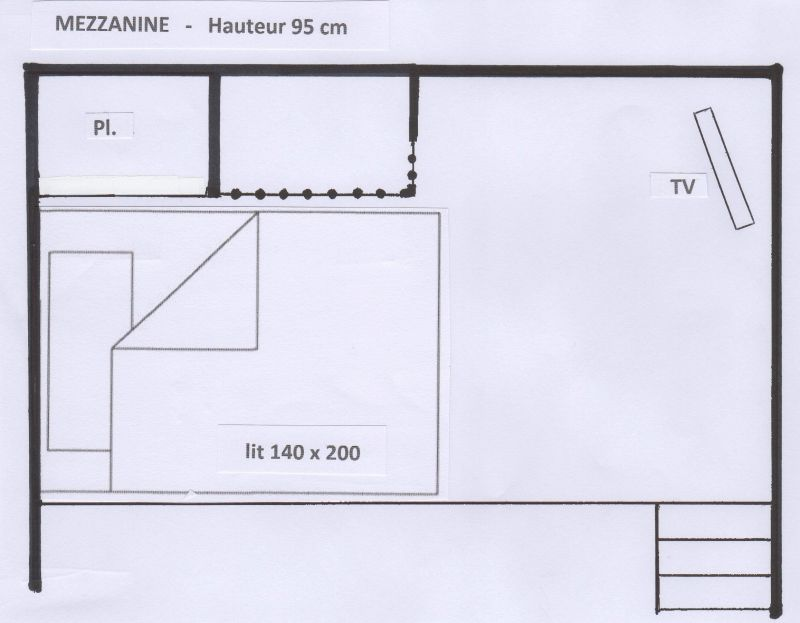 Mezzanine Location Studio 38836 Val d'Isère