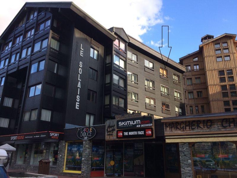 Vue extérieure de la location Location Studio 38836 Val d'Isère