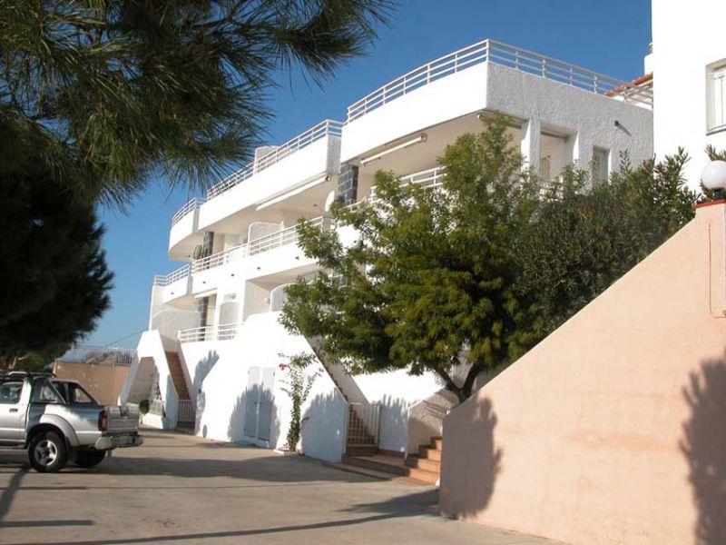 Vue extérieure de la location Location Appartement 38874 Rosas