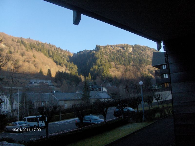 Vue de la terrasse Location Appartement 3890 Le Mont Dore