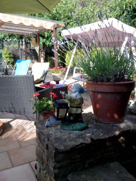 Vue de la terrasse Location Bungalow 39155 Le Castellet
