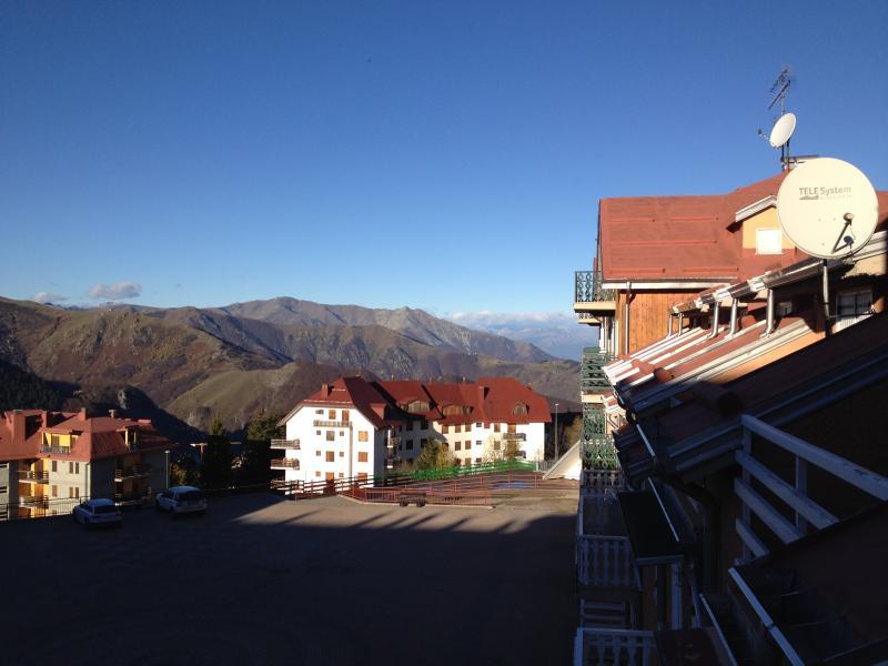 Vue de la terrasse Location Appartement 39181 Prato Nevoso