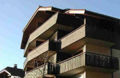 Vue ext�rieure de la location Location Appartement 39863 Thollon Les M�mises