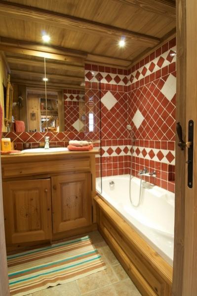 salle de bain Location Appartement 40009 Combloux