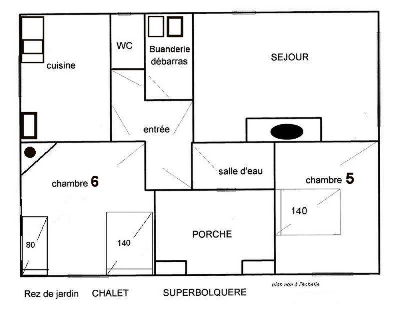 Plan de la location Location Chalet 4002 Font Romeu