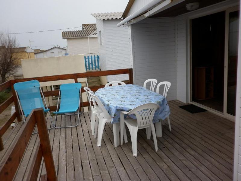 Terrasse Location Chalet 40372 Gruissan-Plage