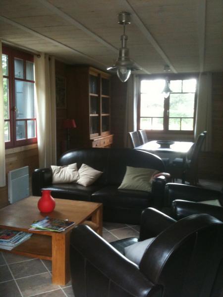 Salon Location Appartement 40487 Cap Ferret