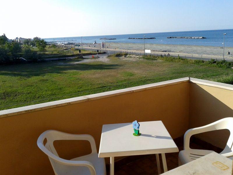 Vue depuis la location Location Appartement 40527 Rimini